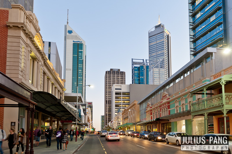 William St for a Committee for Perth project.