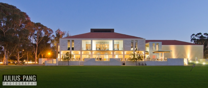University of Western Australia - University Club building for a Committee for Perth project.